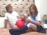 関西弁ギャル女子校生がナンパ男とノリノリSEXめっちゃ楽しそうだけど盗撮されちゃった erovideo 素人JK女子校生の無料エロ動画