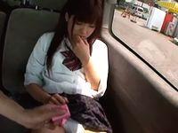 恥ずかしがる素人女子校生に車内でローター仕込みイタズラを堪能してから旅館で援交お泊りデートで中出し FC2 素人JK女子校生の無料エロ動画