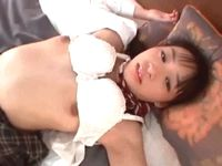 細身に微乳だけど健康的なムッチリ太腿の女子校生を手マンで逝きまくったお返しに愛情フェラ XVIDEOS 素人JK女子校生の無料エロ動画