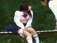 素人高校生バカップルが青姦してる盗撮動画!ウブそうなのに破廉恥な女子校生の大胆な野外フェラから対面座位でインサート ShareVideos 素人JK女子校生の無料アダルト動画