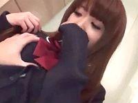 援助交際が常習のロリギャル女子校生のモッチリ白肌おっぱいと敏感チクビを弄びながらハメ撮りエッチ ShareVideos 素人JK女子校生の無料エロ動画