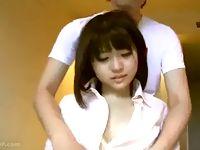 黒髪ショートの女子校生をホテルに連れ込んでバイブ責めやオナニー鑑賞を楽しむ援交男のハメ撮り中出しセックス JavyNow 素人JK女子校生の無料アダルト動画