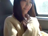 ロリ可愛い女子校生が援交相手の車の中で奥まで咥え込む濃厚フェラチオでご奉仕 Pornhub 素人JK女子校生の無料アダルト動画