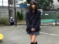 リモコン遠隔バイブをお股に挿れたまま野外調教されるマジメ系な敏感女子校生 ShareVideos 素人JK女子校生の無料エロ動画