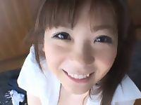 大きな瞳で上目遣いに微笑みながら手コキ&フェラしてくれるメチャ可愛い援交女子校生との主観ハメ撮り erovideo 素人JK女子校生の無料アダルト動画