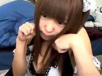 萌え萌えニャンニャンな可愛いロリ女子大生がコスプレ姿でちょっとエッチな素人ライブチャット ShareVideos 素人JD 女子大生の無料エロ動画