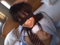援交男2人に目隠しされたまま中出し3Pで何度も逝かされちゃう女子校生の初体験アブノーマルSEX erovideo 素人JK女子校生の無料エロ動画