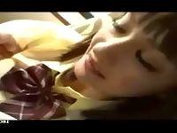 栗色髪のハーフ顔美少女JKが大好きなおチンチンしゃぶりながら激カワ笑顔でご奉仕エッチ ShareVideos 素人JK女子校生の無料エロ動画