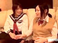 健康美脚に黒パンスト履かせた女子校生2人組にそれぞれ着衣セックス生中出し ShareVideos 素人JK女子校生の無料エロ動画