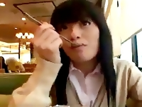 ピンクの下着がエロ可愛い黒髪ロリなアイドル系女子校生と援助交際デート&エッチを満喫! ShareVideos 素人JK女子校生の無料アダルト動画