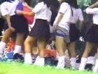 シロウト女子高生たちが集団で野外生着替えしてるシチュエーションに遭遇して望遠レンズで盗撮 erovideo 素人JK女子校生の無料アダルト動画